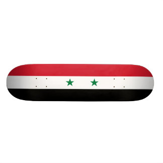 Flag of Syria Skateboard Deck