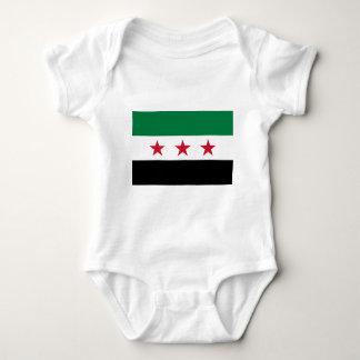 Flag of Syria - Syrian Independence flag Baby Bodysuit