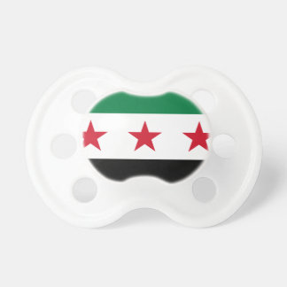 Flag of Syria - Syrian Independence flag Baby Pacifier