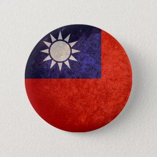 Flag of Taiwan 6 Cm Round Badge