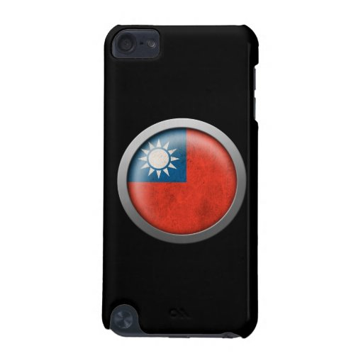 Flag of Taiwan Disc iPod Touch (5th Generation) Covers