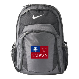 Flag of Taiwan Republic of China Backpack