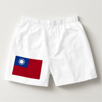 Flag of Taiwan Republic of China Boxers