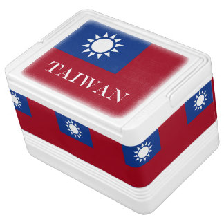 Flag of Taiwan Republic of China Cooler