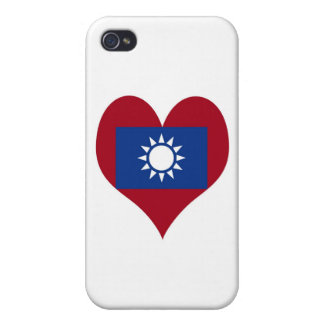 Flag of Taiwan Republic of China iPhone 4 Case