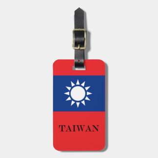 Flag of Taiwan Republic of China Luggage Tag