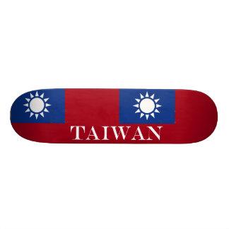 Flag of Taiwan Republic of China Skateboard Deck