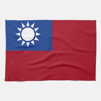 Flag of Taiwan Republic of China Tea Towel
