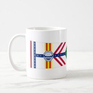 Flag of Tampa, Florida Coffee Mug