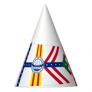 Flag of Tampa, Florida Party Hat