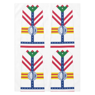 Flag of Tampa, Florida Tablecloth