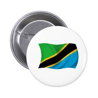 Flag of Tanzania Pinback Button