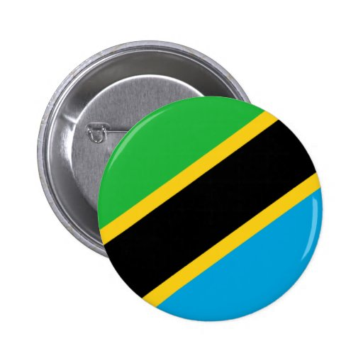 Flag of Tanzania Buttons