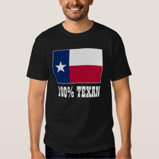 Flag of Texas | 100% Texan Tee Shirt