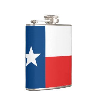 Flag of Texas Hip Flask