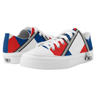 Flag of Texas Low Tops