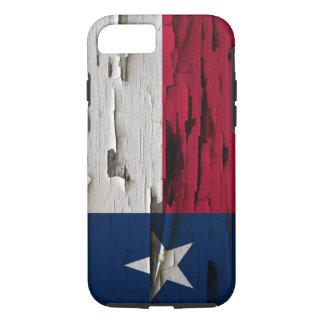 Flag of Texas Paint Peel Look iPhone 8/7 Case