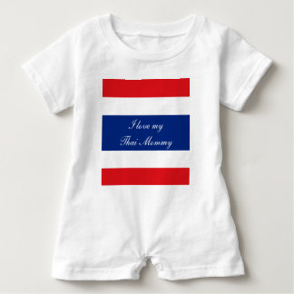 Flag of Thailand Baby Bodysuit