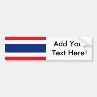 Flag of Thailand Bumper Sticker