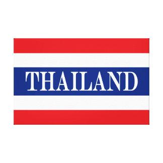 Flag of Thailand Canvas Print