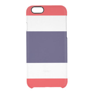 Flag of Thailand Clear iPhone Case