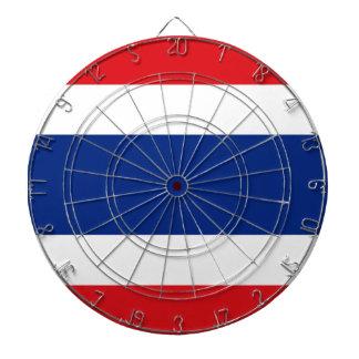 Flag of Thailand Dartboard