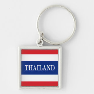 Flag of Thailand Key Ring