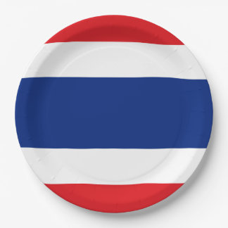 Flag of Thailand Paper Plate