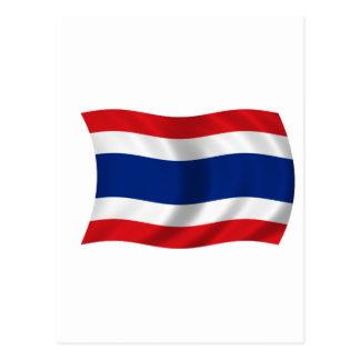 Flag of Thailand Postcard