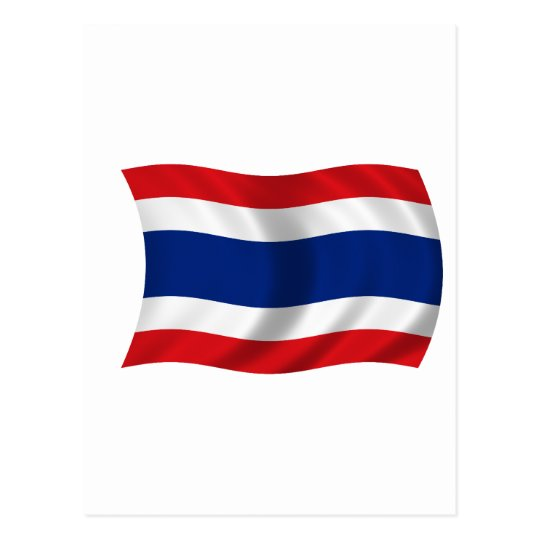 Flag of Thailand Postcard
