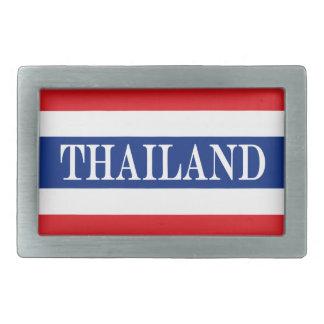 Flag of Thailand Rectangular Belt Buckles