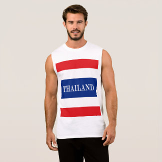 Flag of Thailand Sleeveless Shirt