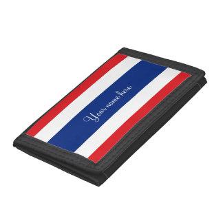 Flag of Thailand Tri-fold Wallets
