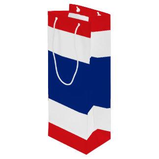 Flag of Thailand Wine Gift Bag
