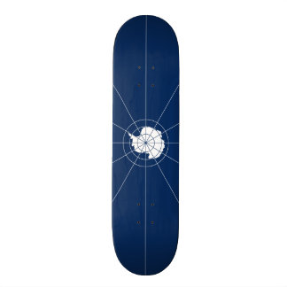 Flag of the Antarctic Treaty Skateboard Deck