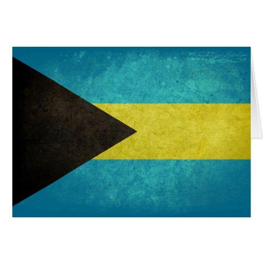 Flag of The Bahamas Card