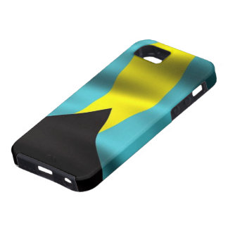 Flag of the Bahamas iPhone 5 Case-Mate Tough™