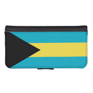 Flag Of The Bahamas iPhone SE/5/5s Wallet Case