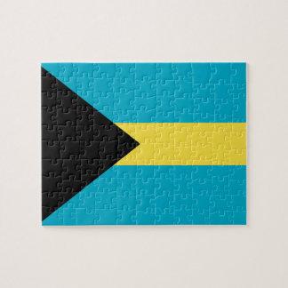 Flag Of The Bahamas Jigsaw Puzzle