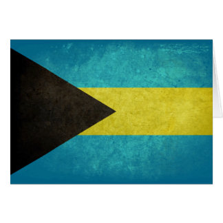Flag of The Bahamas Note Card