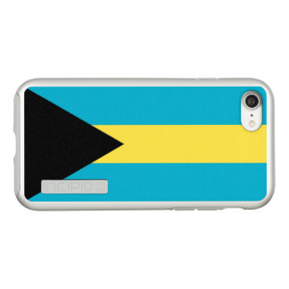 Flag of the Bahamas Silver iPhone Case