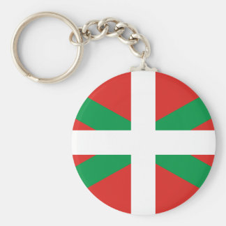 Flag of the Basque Country  Keychain