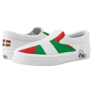 Flag of the Basque Country Shoes Printed Shoes