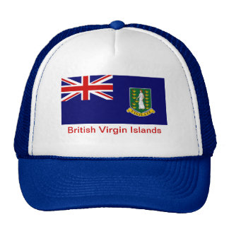 Flag of the British Virgin Islands Mesh Hat