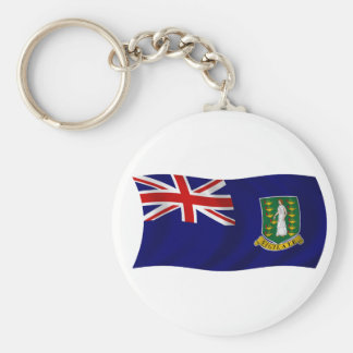 Flag of the British Virgin Islands Keychain