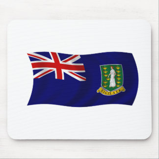 Flag of the British Virgin Islands Mouse Pad