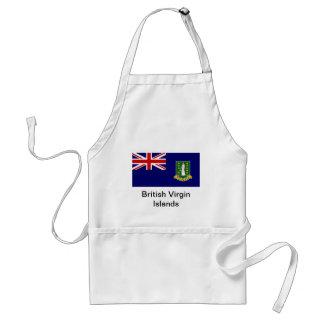 Flag of the British Virgin Islands Standard Apron