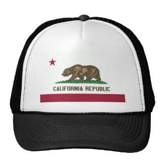 Flag of the Californian state Cap