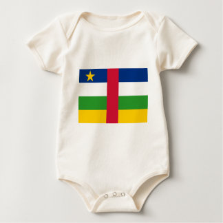 Flag_of_the_Central_African_Republic Baby Bodysuit