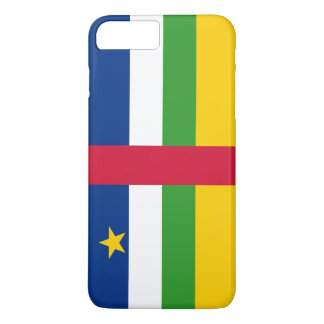 Flag of the Central African Republic iPhone 7 Plus Case